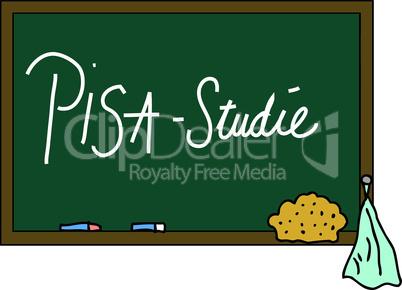 Schultafel PISA Studie
