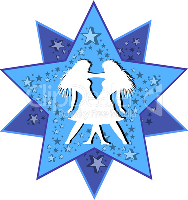 Sternzeichen Stern Zwillinge