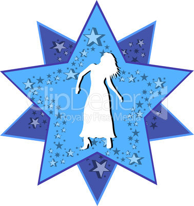 Sternzeichen Stern Jungfrau
