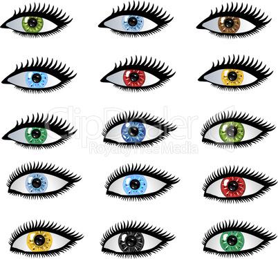 Augen Pupille