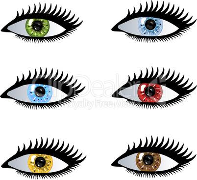 Augen Pupillen
