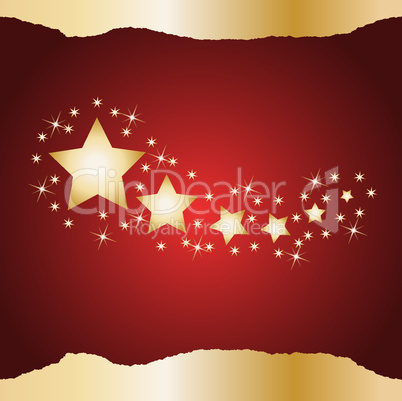 Weihnachtshintergrund rot