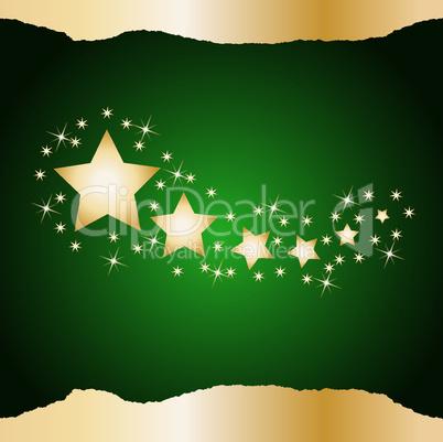 Weihnachtshintergrund grün