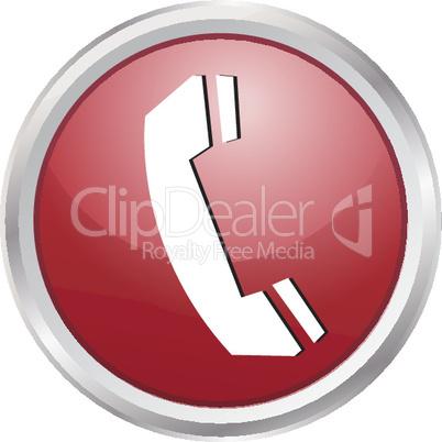 3D Button Telefon