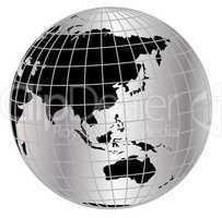 globus asien - australien