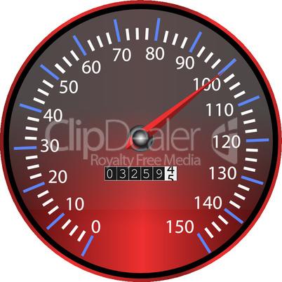 Tachometer rot