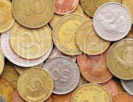 Deutsche Mark / Pfennige - Old German Currency