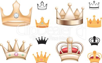 set of crown