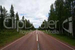 Durch die schwedischen Wälder