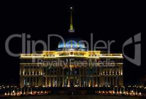 President palace.