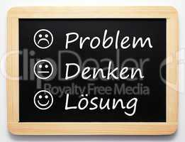 Problem/Denken/Lösung - Performance Konzept