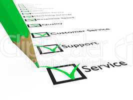 Service, Support and Customerservice