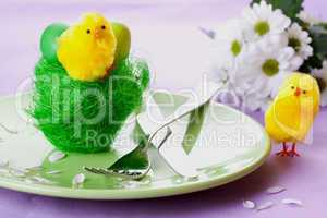 Essen zu Ostern / nice table setting for easter