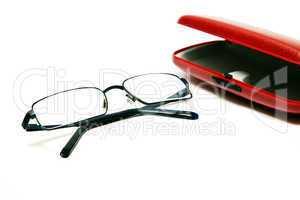 Brille mit Brillenetui 149
