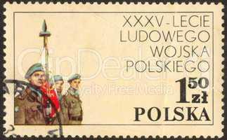 Stamp set seventy seven