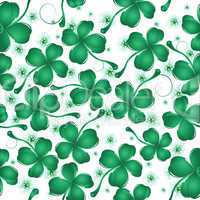 Clover leaves pattern design
