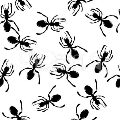 Ants pattern