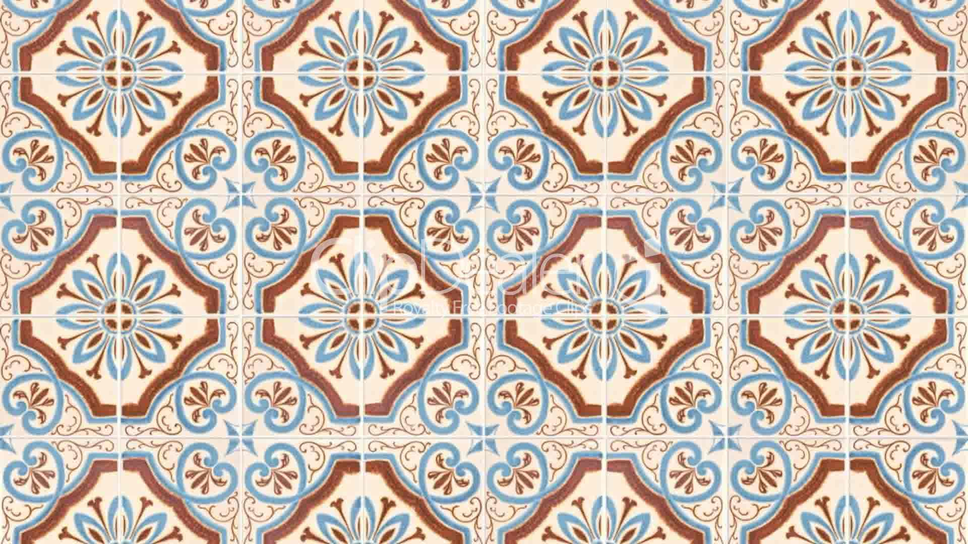 Seamless tile pattern: Royalty-free video and stock footage