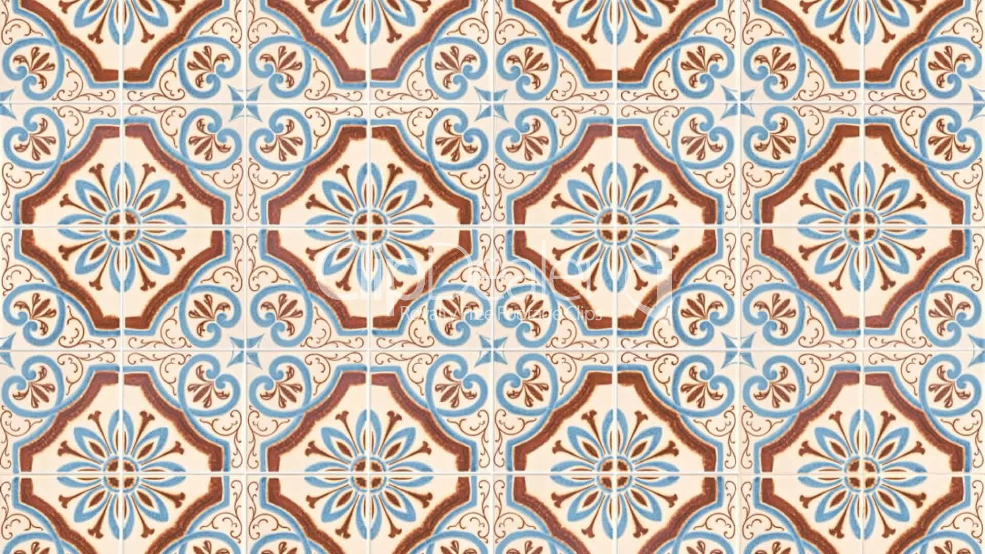 Seamless tile pattern royalty free video and stock footage for Ceramic patterns designs