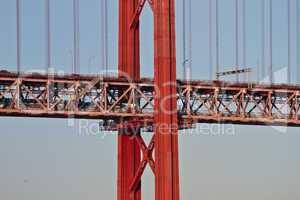 Lissabon,  Brücke des 25 April