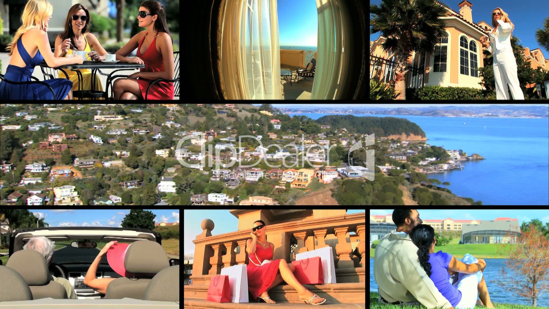 Montage Of Living A Luxury Lifestyle Royalty Free Video And Stock