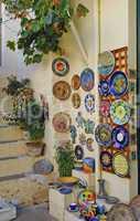 Souvenirladen in Kritsa, Kreta