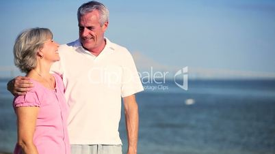 Portrait of Healthy Retired Couple