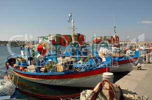 Boote im Fischerhafen von Ierapetra