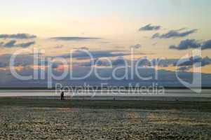 Sonnenuntergang in Neuharlingersiel