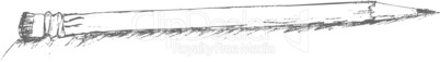Sketch with pencil