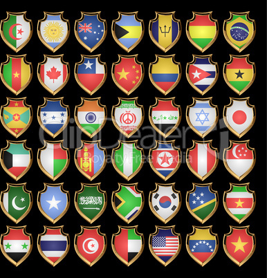 Flags-badges.