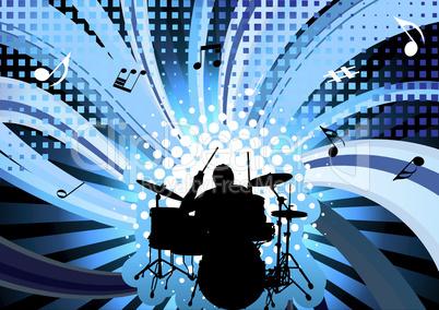 rock group drummer