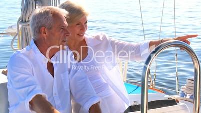 Senioren beim Segeln