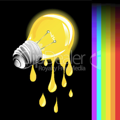 Draining light bulb.eps