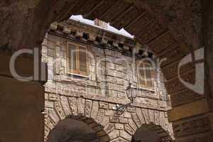 Mantua, Logge di Giulio Romana o Pescherie - Giulio Romana Loggia or Pescherie, Lombardei, Italien