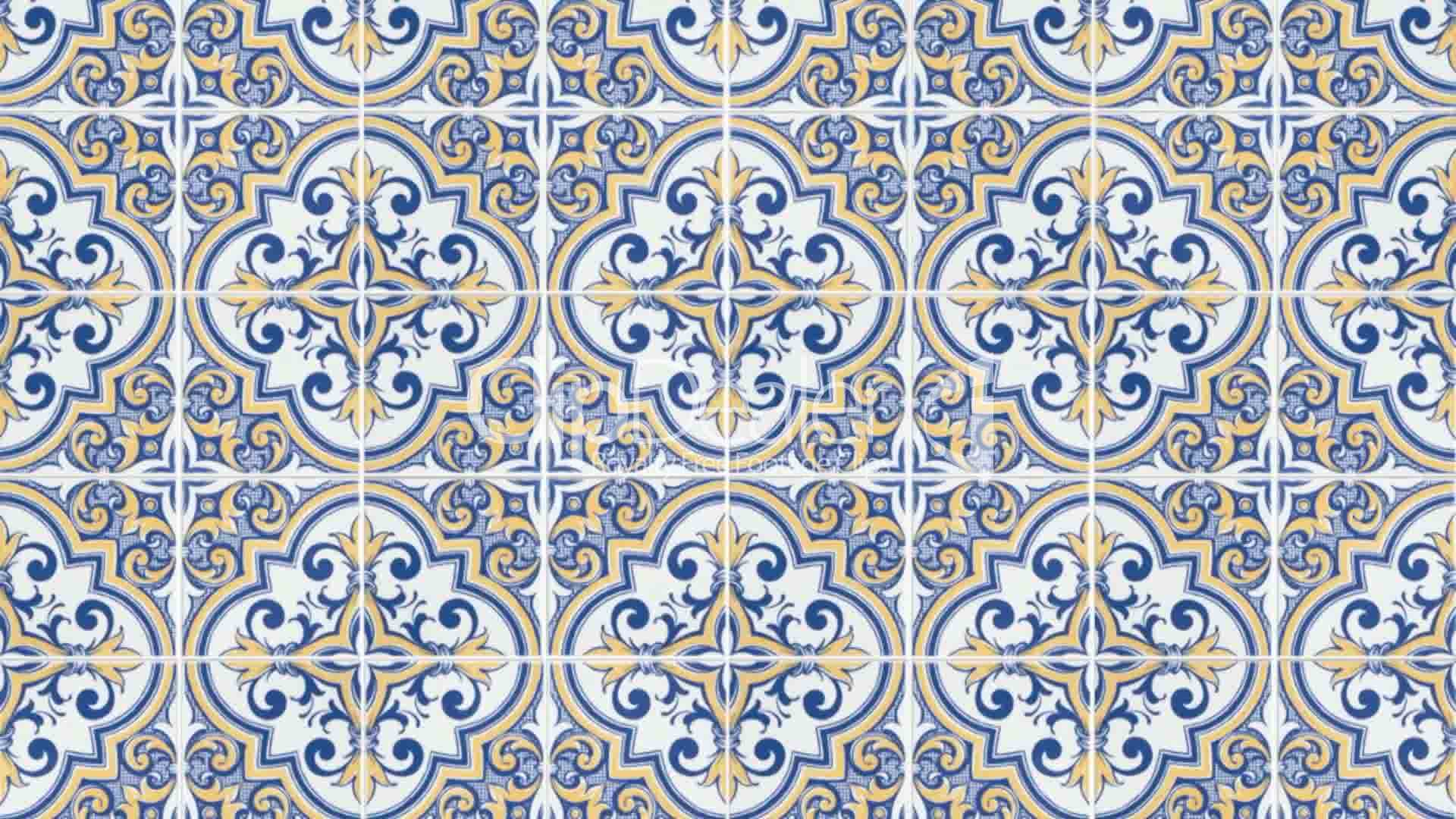 Clips Seamless Tile Pattern Royalty Free