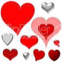 Herzen auf Holz Vorlage Muster