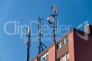 transmitter masts