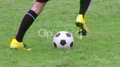 Soccer Player Dribbling 02