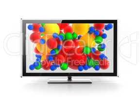Led / Plasma / LCD vivid screen concept