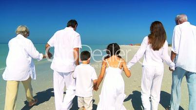 Lebensfreude mit drei Generationen
