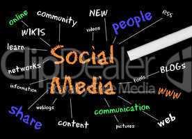 Social Media - Network Concept