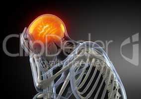 Head Pain concept