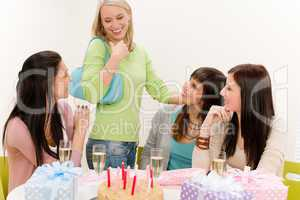 Birthday party - group of woman celebrate