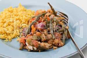 Gemüsetajine - Vegetables Tajine