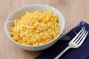 Gekochte Hirse - Cooked Millet