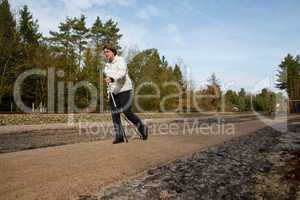 NordicWalking im Frühjahr