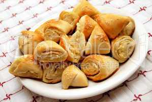 Appetizing homemade pastry