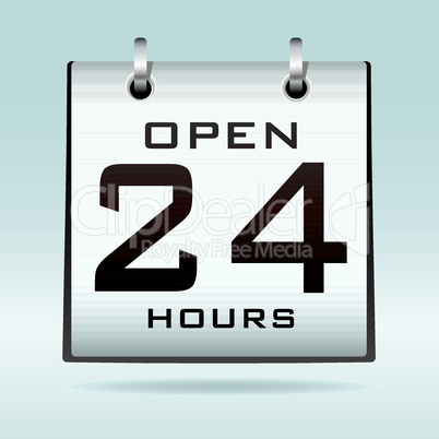 Open 24hr calendar
