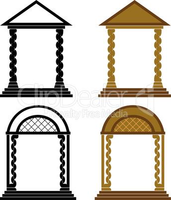 Four arches.